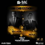 Carlos Peña & Jon Secada en Concierto