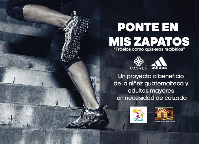 """La A Mis Zapatos Hogares Iniciativa En Invitan Participar """"ponte 1Axqfw"""